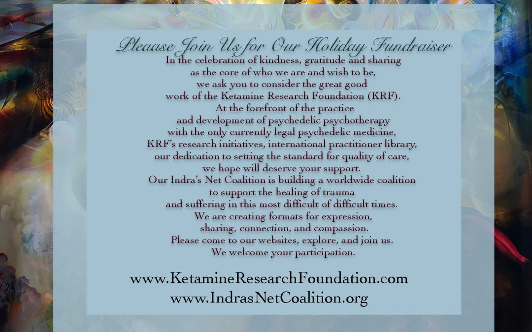 Holiday FUNDRAISER for KRF & Indras Net